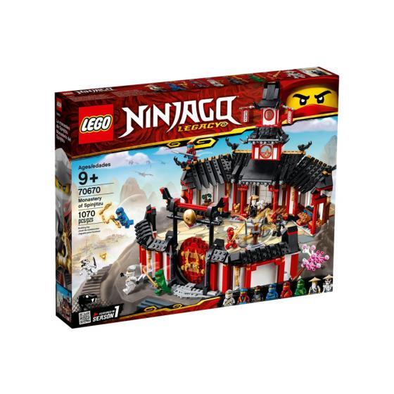 Lego Ninjago 70670 Monastery Of Spinjitzu Popitoi